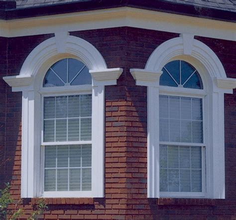 custom arch window pediment casing arches