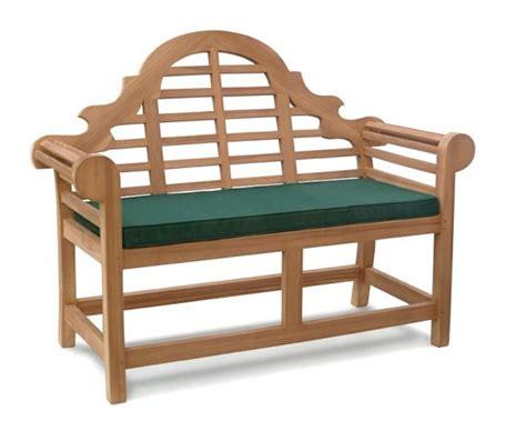 small bench cushion lutyens bench cushion small lindsey teak