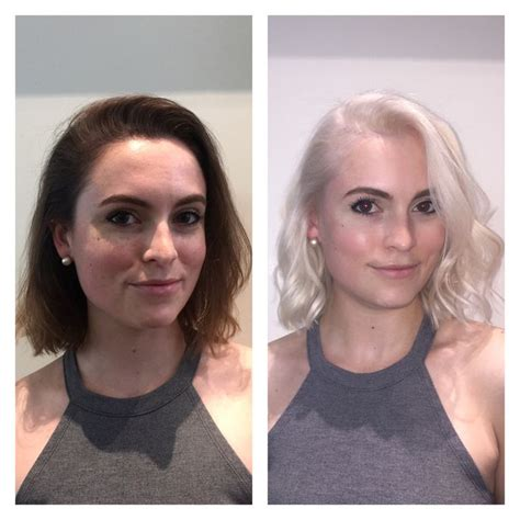 platinum blonde makeover 17 best images about hair by laura gibson in dc for more