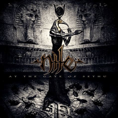 at the gates nile reveals at the gate of sethu cover art nuclear blast