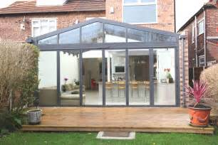Modern Conservatory by Contemporary Conservatory Ideas Open Plan Extension For