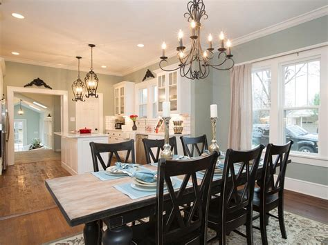 Open Kitchen And Dining Room | open concept kitchen unifies kitchen with other parts of