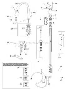 delta kitchen faucet parts diagram delta faucet 980t sssd dst parts list and diagram