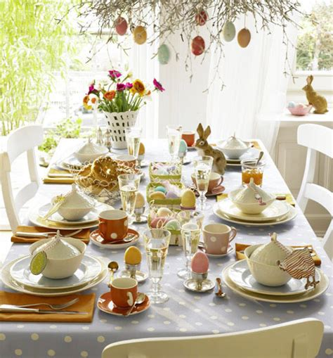 lunch table setting ideas home dzine home decor easter table decoration ideas
