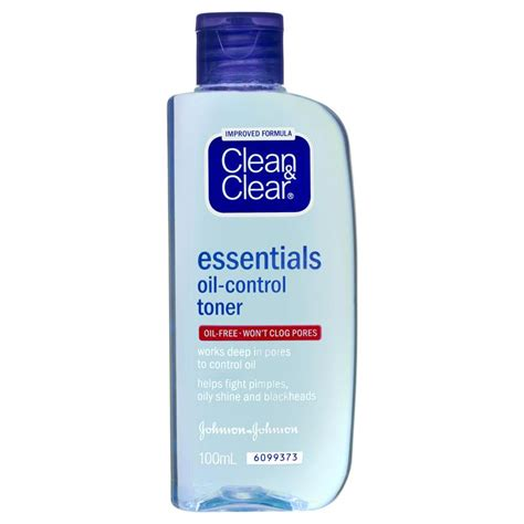 Toner Wajah Clean And Clear buy clean clear essentials toner 100ml at chemist