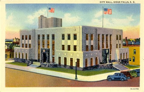 Sioux Falls Post Office by Postcards From Minnehaha County South Dakota