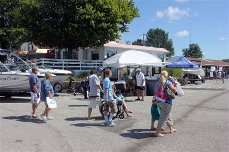 boat show in michigan michigan city water boat show brings in great crowd over