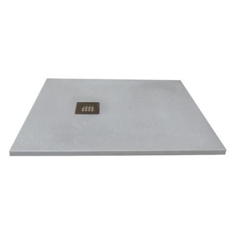 piatto doccia solidstone piatto doccia in pietra solidstone alto 2 8 cm grigio