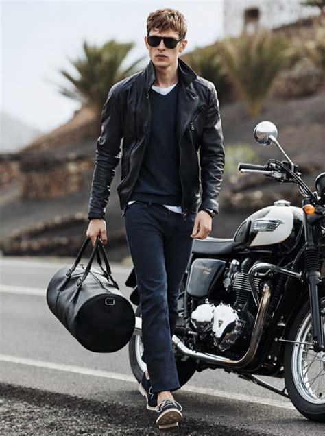 mens casual biker h e by mango spring summer 2014 men s style fashion