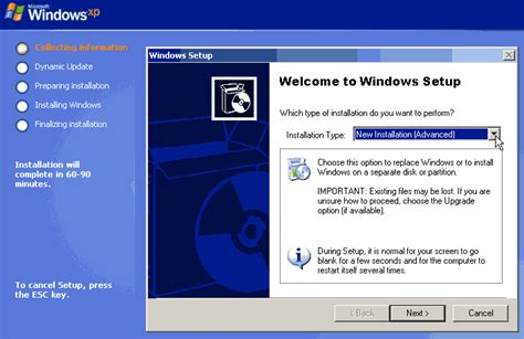 setup xp windows 8 how to install windows xp on your system super fast