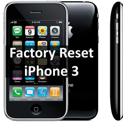 resetting battery usage iphone factory reset iphone 3 how to restore phone