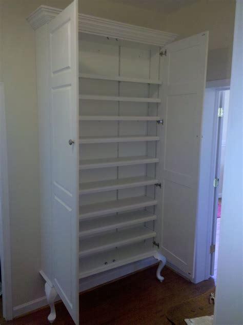 built in storage cabinets built in storage cabinet craft room pinterest