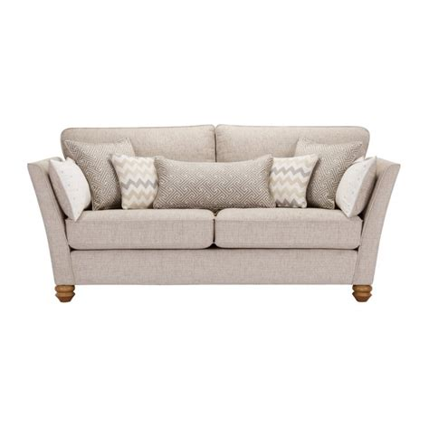 Gainsborough 3 Seater Sofa In Beige Oak Furniture Land