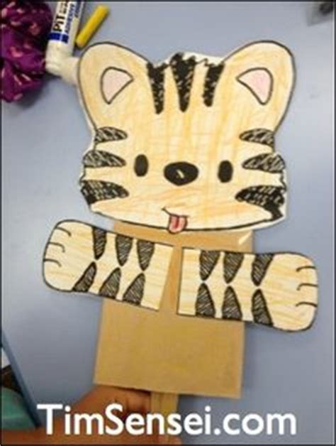 tiger puppet template 1000 images about arts and crafts for 6 8 year olds on