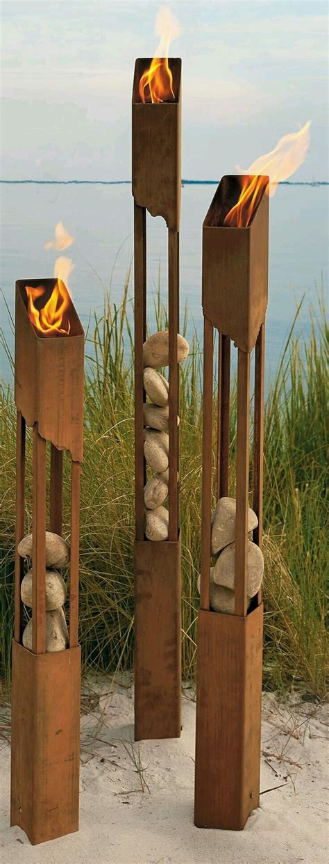 backyard torch best 20 fire torch ideas on pinterest swedish candle swedish fire log and fake
