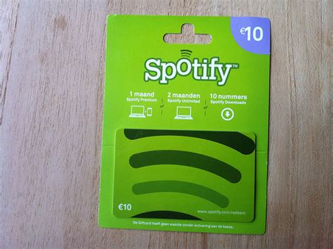 How To Use Your Spotify Gift Card - spotify gift card 10 euro flickr photo sharing