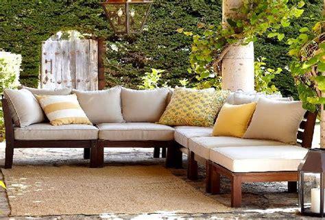wood outdoor sofa thesofa