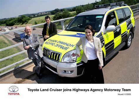 toyota agency toyota patrol vehicles join highways agency motorway force