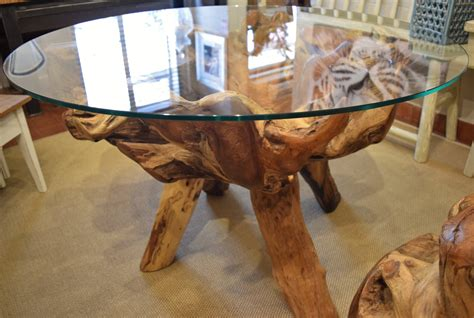 Teak Root Dining Table in Decorative Items
