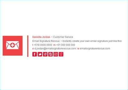 professional email signature design make your own