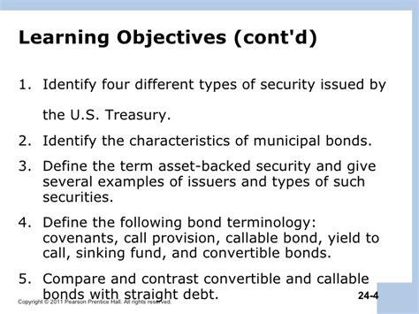 Municipal Bond Sinking Fund berk chapter 24 debt financing