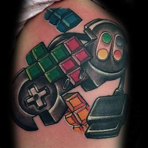 tetris tattoo 46 tetris ideas and designs collections