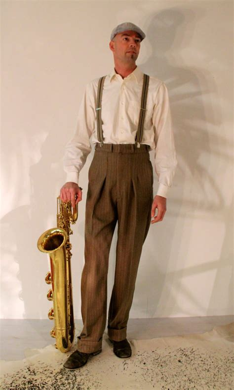 swing your pants 1940 s mens pants 1930 s high waisted slacks made to