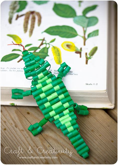 beaded lizard craft tractors and ps on