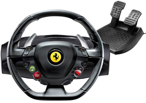 volante 458 italia xbox 360 thrustmaster 4460094 458 italia pc x360