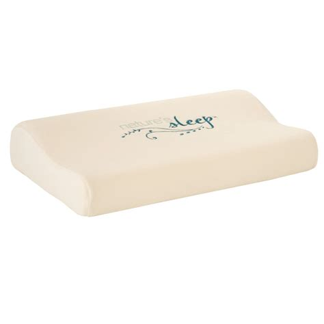 Memory Foam Or Pillow by Molded Memory Foam Pillow Kmart