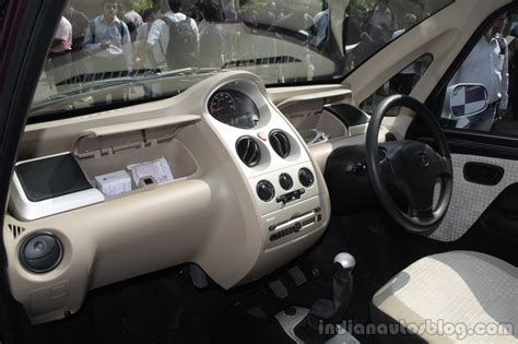 tata nano twist interior indian autos