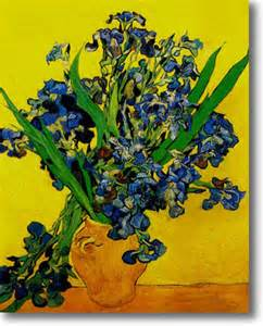 Gogh Irises Vase by Vase Ft For Sale Collectibles Everywhere