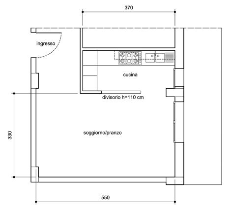 arredare cucina a vista arredare il soggiorno zona pranzo con cucina a vista