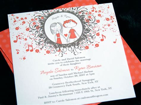 creative ways to invite wedding imaginative wedding invitations for inspiration girly