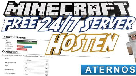 Aternos - Minecraft server erstellen mit aternos