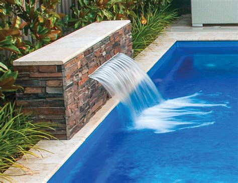 waterwall water feature pool accessory leisure
