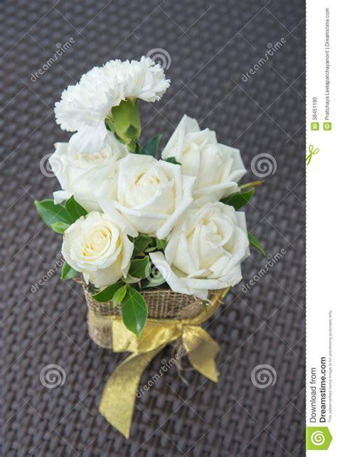 White Roses In Vase by White Roses In Vase Stock Photo Image 58451180