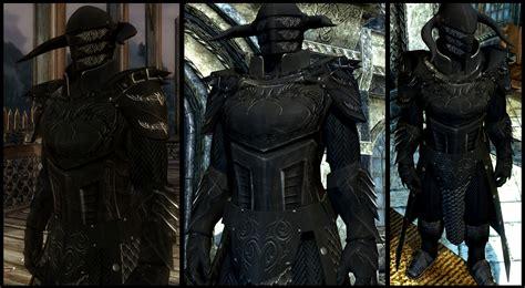skyrim heavy armor mod black overlord armor at skyrim nexus mods and community