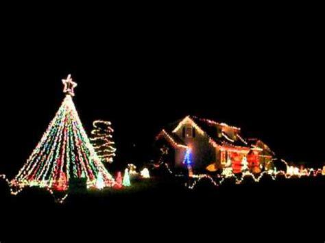 2010 kennedy family christmas light show light o rama 16