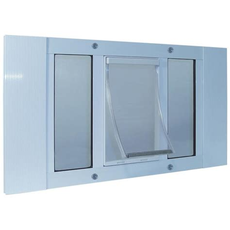 Ideal Pet Doors by Shop Ideal Pet Products X Large White Aluminum Window Pet