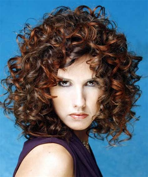 perms for round faces permed curly hair hair styles pinterest permed