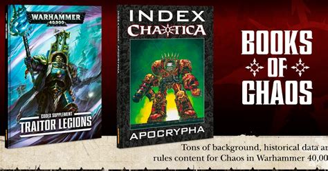 12 for an antidote to chaos books pre orders are up traitor legions and battleforces lake