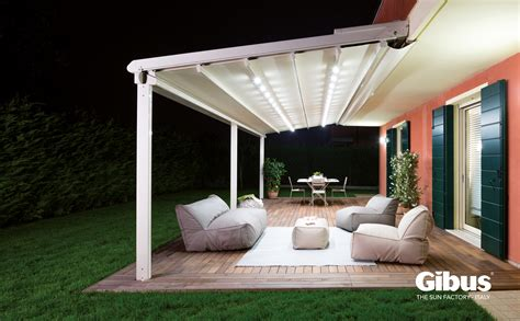 retractable canopies awnings electric motorised canopy