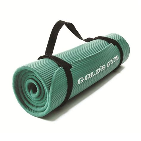 Golds Exercise Mat by Golds Ribbed Rubber Mat Sweatband