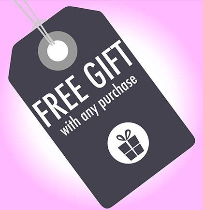 Free Gift With Purchasethis Just In From The Bod get this free gift with any purchase the house of