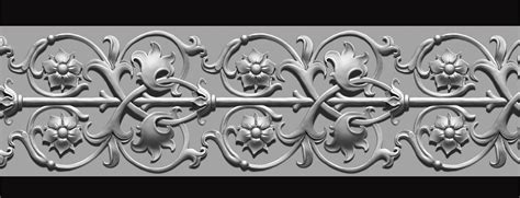 pattern in zbrush juan hinojosa florid victorian ornament