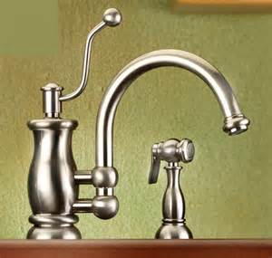 style kitchen faucets vintage style kitchen faucet from mico the seashore