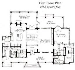 Historic Floor Plans the first floor plan of country house plan 73864 familyhomeplans com