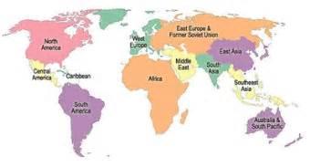 Ap World Regions Map by Ap World History Regional Maps Elizabethmaddaluno