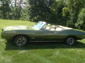 1968 Pontiac Gto Convertible For Sale Sell Used 1968 Pontiac Gto Convertible W Tri Power In